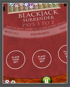 play blackjack free surrender